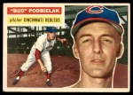 1956 Topps #224  Clarence 'Bud' Podbielan  Front Thumbnail