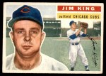 1956 Topps #74  Jim King  Front Thumbnail