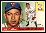 1955 Topps #14  Jim Finigan  Front Thumbnail