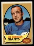 1970 Topps #105  Joe Morrison  Front Thumbnail