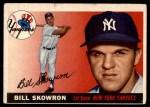 1955 Topps #22  Bill Skowron  Front Thumbnail