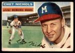 1956 Topps #278  Chet Nichols  Front Thumbnail