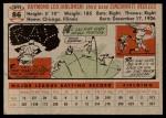 1956 Topps #86  Ray Jablonski  Back Thumbnail
