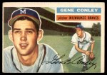 1956 Topps #17  Gene Conley  Front Thumbnail