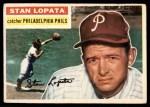 1956 Topps #183  Stan Lopata  Front Thumbnail