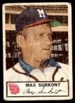 1953 Johnston Cookies #11  Max Surkont   Front Thumbnail