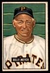1951 Bowman #272  Billy Meyer  Front Thumbnail