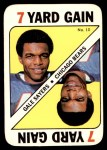1971 Topps Game #10  Gale Sayers  Front Thumbnail