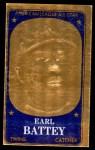 1965 Topps Embossed #70   Earl Battey   Front Thumbnail