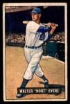 1951 Bowman #23  Hoot Evers  Front Thumbnail