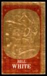 1965 Topps Embossed #43   Bill White   Front Thumbnail