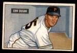 1951 Bowman #310  Erv Dusak  Front Thumbnail
