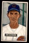 1951 Bowman #287  Jim Blackburn  Front Thumbnail