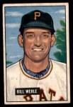 1951 Bowman #64  Bill Werle  Front Thumbnail