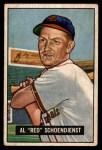 1951 Bowman #10  Red Schoendienst  Front Thumbnail