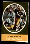 1972 Sunoco Stamps  Bart Starr  Front Thumbnail