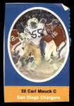 1972 Sunoco Stamps  Carl Mauck  Front Thumbnail