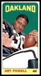 1965 Topps #146  Art Powell  Front Thumbnail