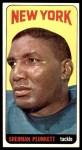 1965 Topps #125  Sherman Plunkett  Front Thumbnail