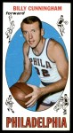 1969 Topps #40  Billy Cunningham  Front Thumbnail