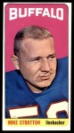 1965 Topps #42  Mike Stratton  Front Thumbnail