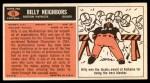 1965 Topps #15  Billy Neighbors  Back Thumbnail