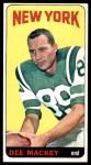 1965 Topps #120  Dee Mackey  Front Thumbnail
