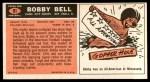 1965 Topps #91  Bobby Bell  Back Thumbnail