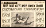 1964 Topps Giants #46  Max Alvis   Back Thumbnail