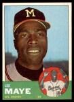 1963 Topps #109  Lee Maye  Front Thumbnail
