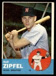 1963 Topps #69  Bud Zipfel  Front Thumbnail