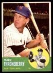 1963 Topps #78  Marv Throneberry  Front Thumbnail