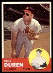 1963 Topps #17  Ryne Duren  Front Thumbnail