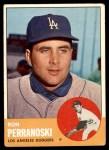 1963 Topps #403  Ron Perranoski  Front Thumbnail