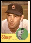 1963 Topps #216  Gene Conley  Front Thumbnail