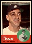 1963 Topps #484  Dale Long  Front Thumbnail