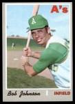 1970 Topps #693  Bob Johnson  Front Thumbnail