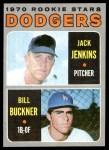 1970 Topps #286   -  Bill Buckner / Jack Jenkins Dodgers Rookies Front Thumbnail