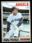 1970 Topps #376  Lefty Phillips  Front Thumbnail
