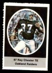 1972 Sunoco Stamps  Raymond Chester  Front Thumbnail
