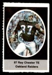 1972 Sunoco Stamps #463  Raymond Chester  Front Thumbnail
