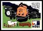 1971 Fleer World Series #22   1924 Senators / Giants -    Front Thumbnail