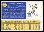 1970 Topps #103  Frank Reberger  Back Thumbnail
