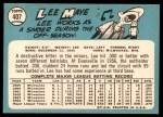 1965 Topps #407  Lee Maye  Back Thumbnail
