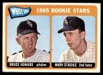 1965 Topps #41   -  Bruce Howard / Marv Staehle White Sox Rookies Front Thumbnail