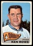 1965 Topps #518  Ken Rowe  Front Thumbnail