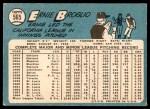1965 Topps #565  Ernie Broglio  Back Thumbnail