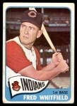 1965 Topps #283  Fred Whitfield  Front Thumbnail