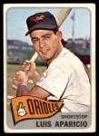 1965 Topps #410  Luis Aparicio  Front Thumbnail