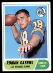 1968 Topps #132  Roman Gabriel  Front Thumbnail